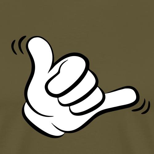 chacka hand - Männer Premium T-Shirt