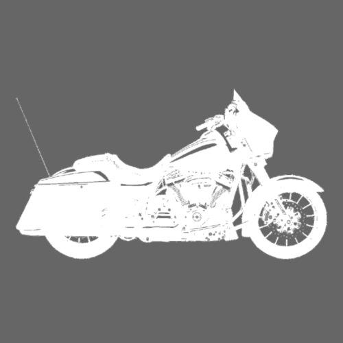 Bagger - hvid - Herre premium T-shirt