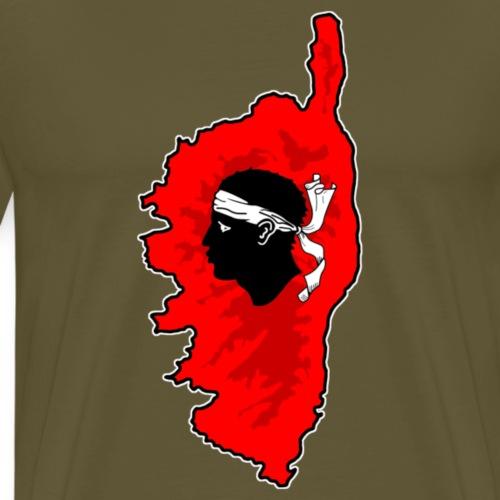 Corse - T-shirt Premium Homme