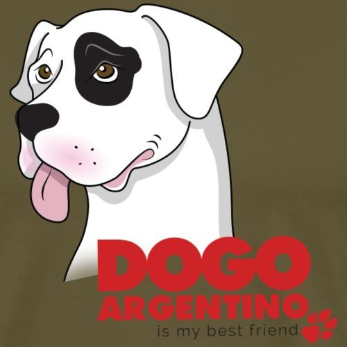 Dogo Argentino - Maglietta Premium da uomo