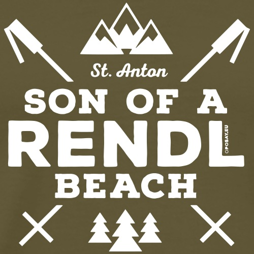 Son of a Rendl Beach P - Men's Premium T-Shirt