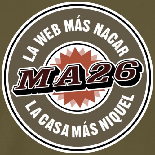 Logo MA26 original - Camiseta premium hombre