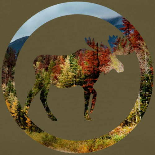 Autumn Moose (Bogenschiessen by BOWTIQUE) - Männer Premium T-Shirt