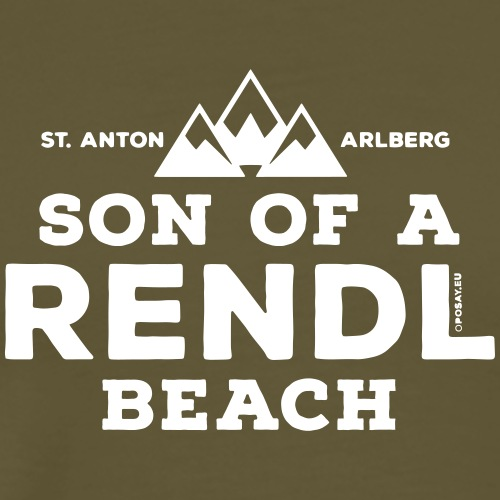 Son of a Rendl Beach - Men's Premium T-Shirt