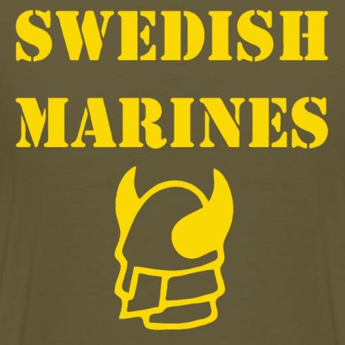 SWE MARINES - Premium-T-shirt herr