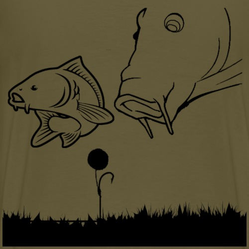 2 carpe d'alimentation - T-shirt Premium Homme
