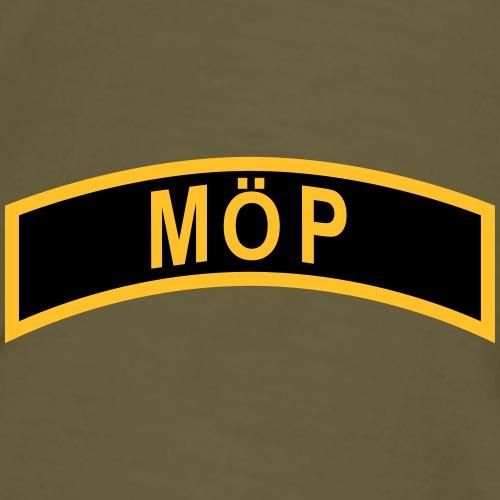 Militärt Överintresserad Person - MÖP-Båge - Premium-T-shirt herr