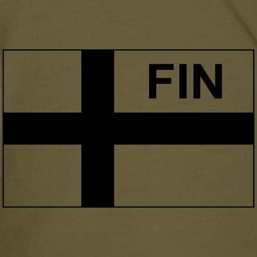 Finnish Tactical Flag FINLAND - Soumi - FIN - Premium-T-shirt herr