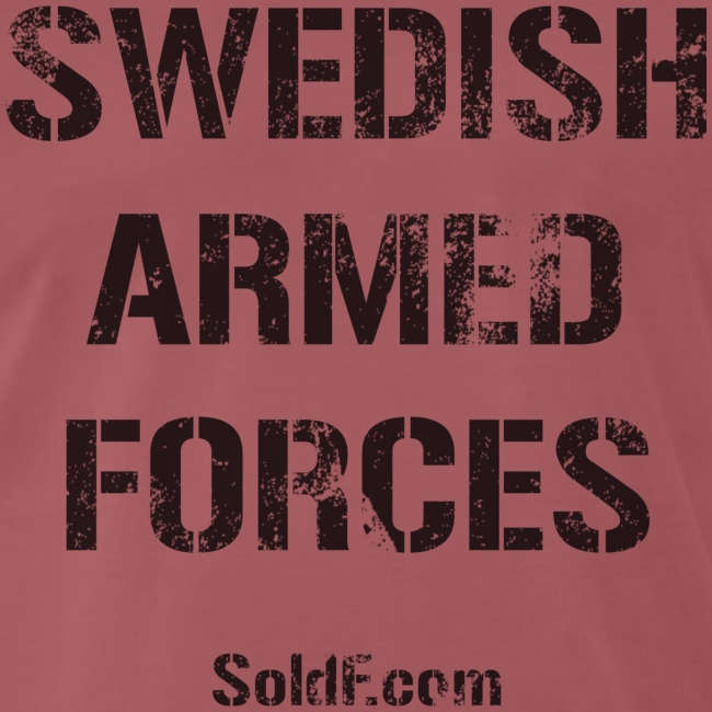 Swedish Armed Forces + SWE FLAG