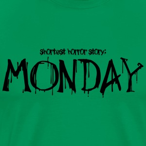 Monday horror story - Men's Premium T-Shirt