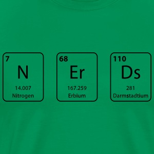 Nerds periodic table element - Men's Premium T-Shirt