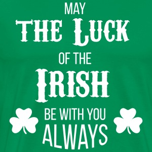 Luck of the Irish - Männer Premium T-Shirt