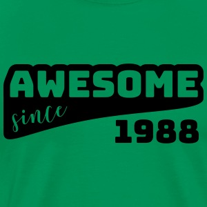 Awesome since 1988 / Birthday-Shirt - Men's Premium T-Shirt