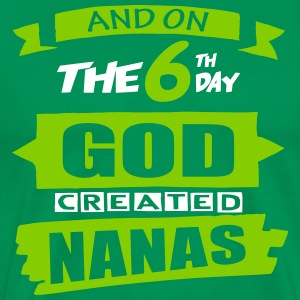 God Created Nanas - Men's Premium T-Shirt