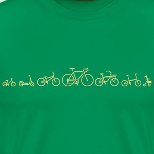 Velo ution bike wear bicycle evolution - Men's Premium T-Shirt