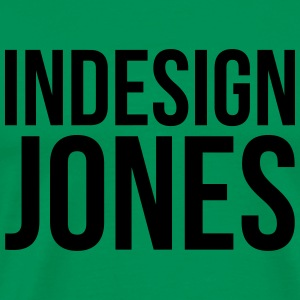 indesign jones - Premium-T-shirt herr