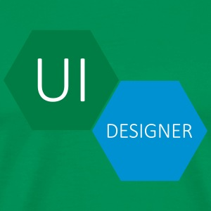 UI User Interface Designer - Premium T-skjorte for menn