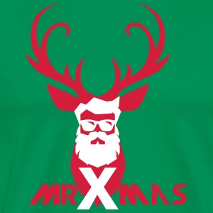 MrXmas_Shirt_red - Men's Premium T-Shirt