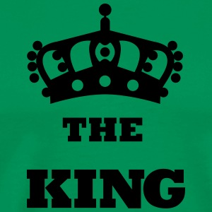 THE_KING - Mannen Premium T-shirt