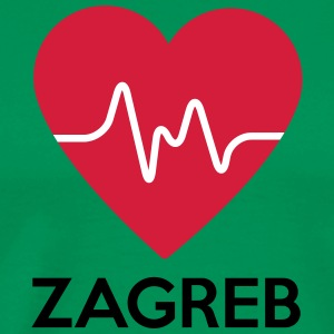 heart Zagreb - Men's Premium T-Shirt