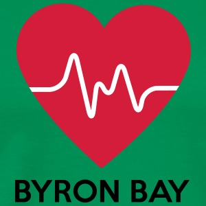 Heart Byron Bay - Men's Premium T-Shirt