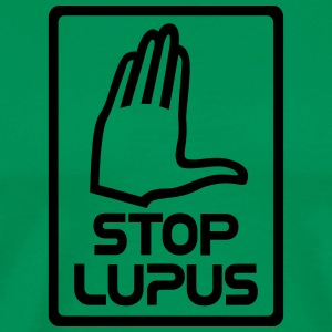 Stop lupus law open - Men's Premium T-Shirt