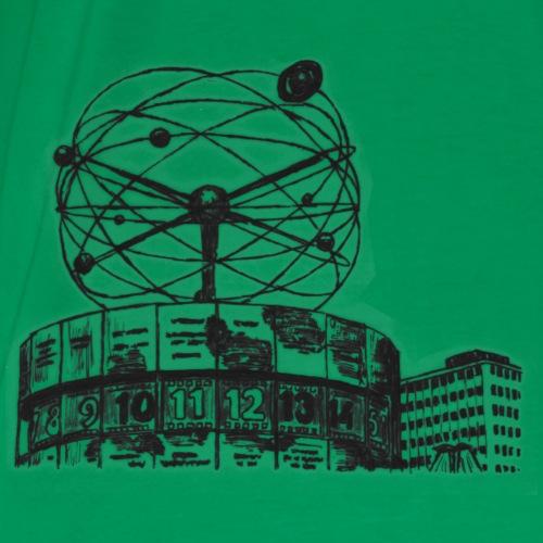 Weltzeituhr - Männer Premium T-Shirt