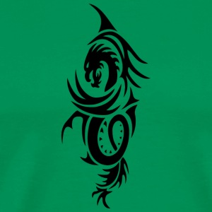 Dragon - Tribal 2 - Männer Premium T-Shirt