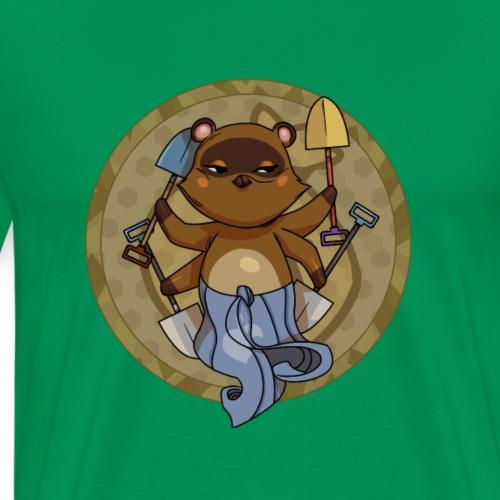 VishNook, Dios de las Palas - Camiseta premium hombre