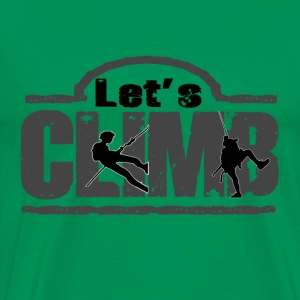 Let and climbing - Men's Premium T-Shirt