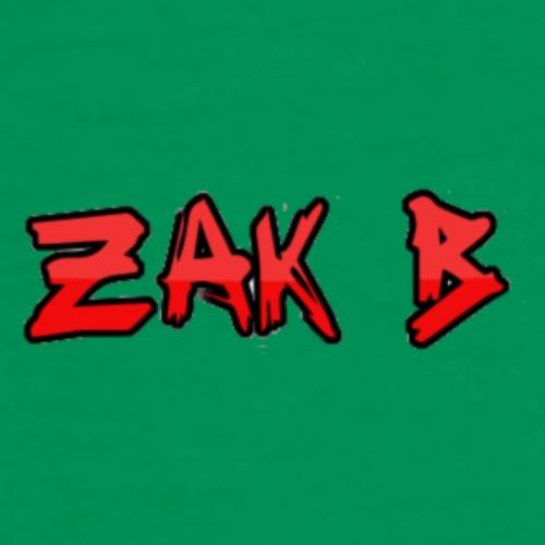 Zak B Name Tag | Zak B - Men's Premium T-Shirt