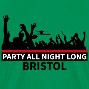 BRISTOL - Party All Night Long - Herre premium T-shirt