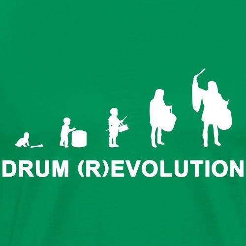 drum (r)evolution - Maglietta Premium da uomo