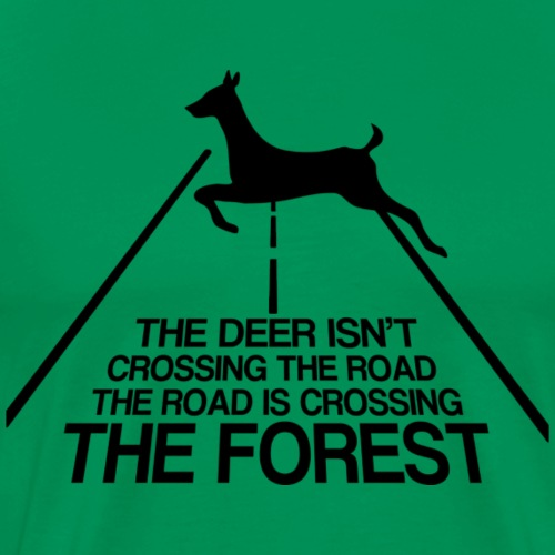 Deer forest - Men's Premium T-Shirt