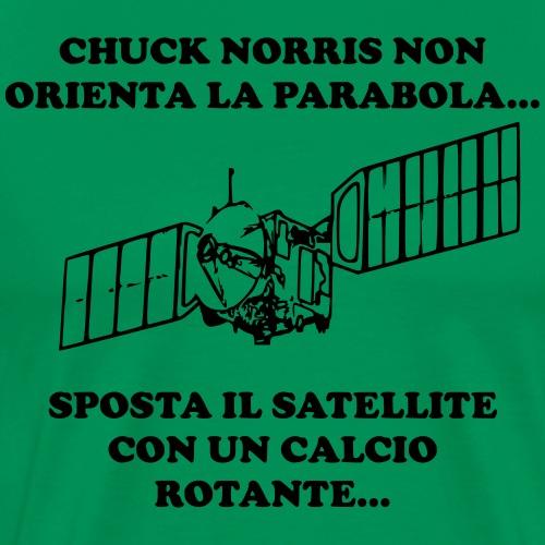 CHUCKSATELLITE - Maglietta Premium da uomo