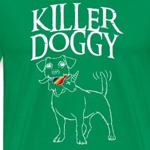 Killer Doggy Unicorn - Unicorn White - Men's Premium T-Shirt