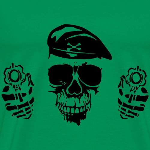 SkullWaepp - Männer Premium T-Shirt