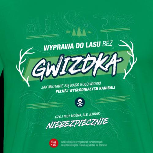 GWIZDEK - motyw jasny - Koszulka męska Premium