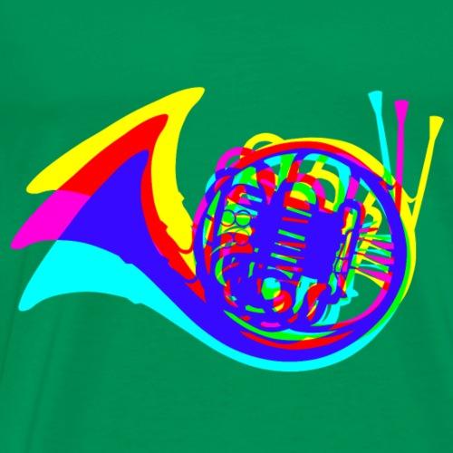 Horn - Männer Premium T-Shirt