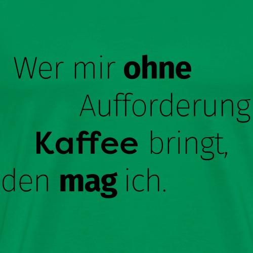 ROTKÄFFCHEN - Slogan - Männer Premium T-Shirt