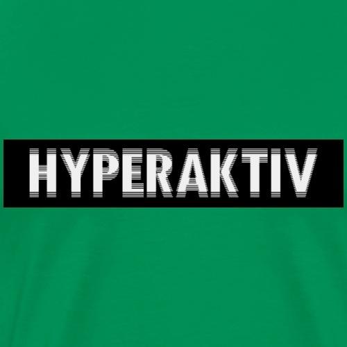 hayperaktivblack - Männer Premium T-Shirt