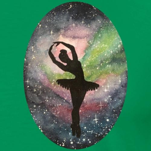 Ballerina im Universum - Männer Premium T-Shirt
