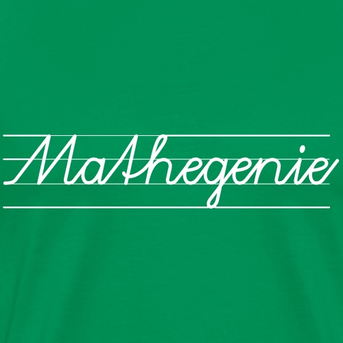 Mathegenie - Männer Premium T-Shirt