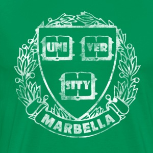 Vintage Marbella University - Men's Premium T-Shirt