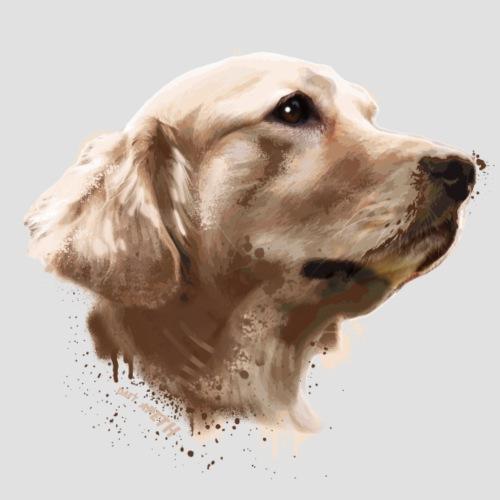 The Labrador Retriever - Men's Premium T-Shirt