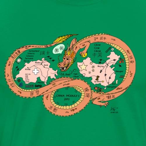 Chinamodul - Männer Premium T-Shirt