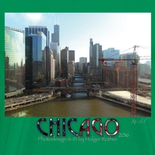 Chicago 1 - Männer Premium T-Shirt