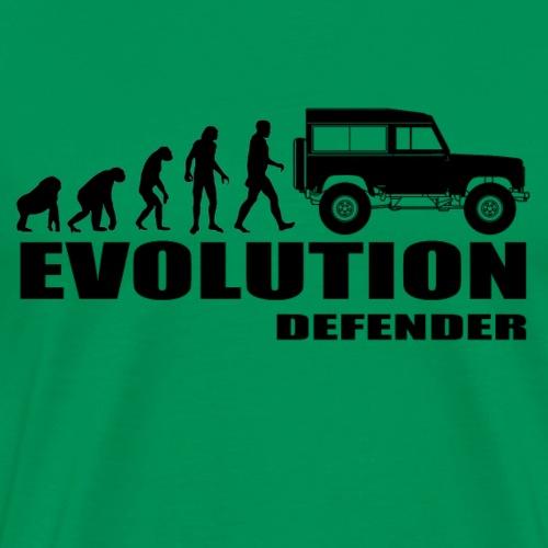 Evolution Defender - Männer Premium T-Shirt