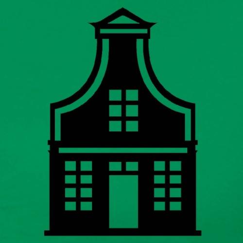 zaans huisje - Mannen Premium T-shirt