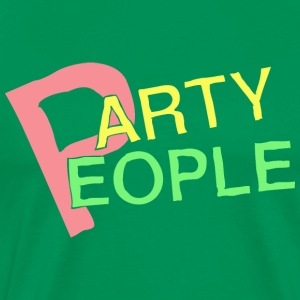 Party People - Herre premium T-shirt
